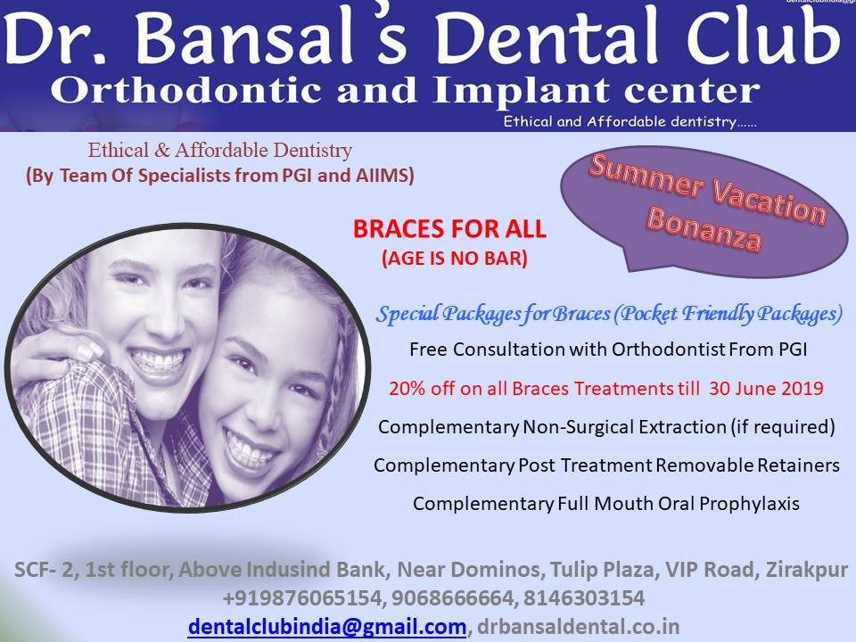 Dr Bansal's Dental Club – Ethical and Affordable Dentistry